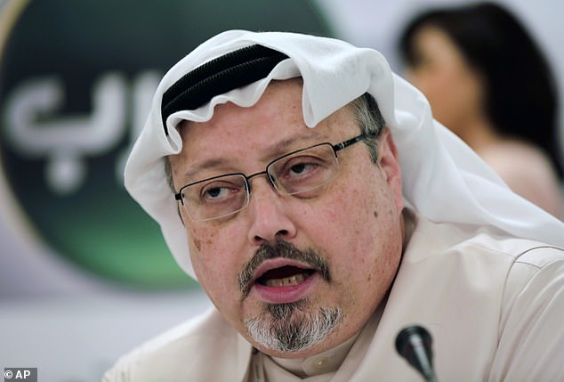 Saudi Arabia has convicted eight people of killing journalist Jamal Khashoggi (pictured) and has handed them jail sentences between seven and 20 years