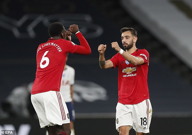Manchester United midfielders Paul Pogba and Bruno Fernandes were both injured after an accidental collision in training