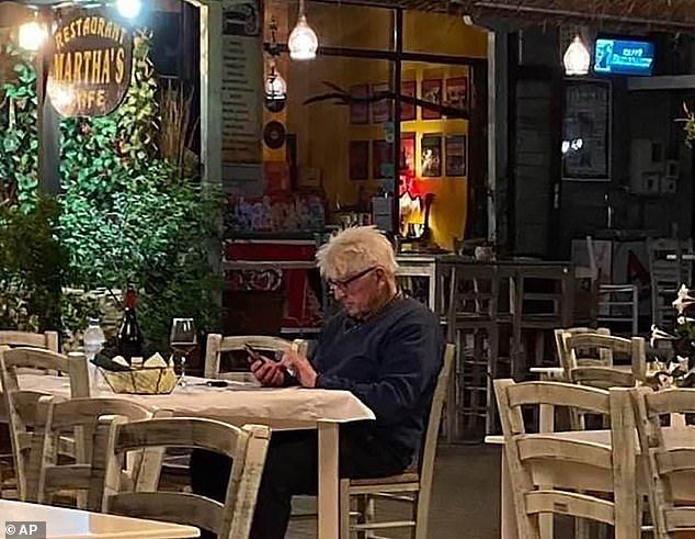 Prime Minister's father saw his phone on Thursday in a tavern in the village of Horto