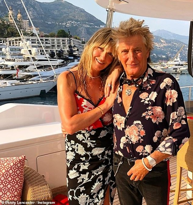 Relationship: Penny and Rod began dating in 1999 before marrying eight years later in the medieval monastery La Cervara in Portofino