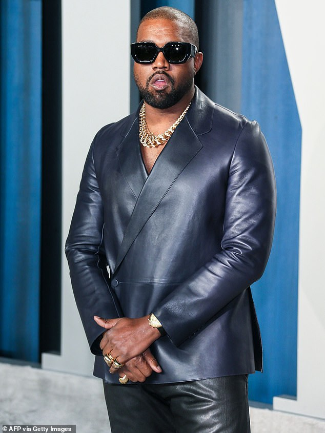 Campaign launch: Kanye West has announced that he's running for president of the United States, with just four months until election day (pictured in February, 2020)
