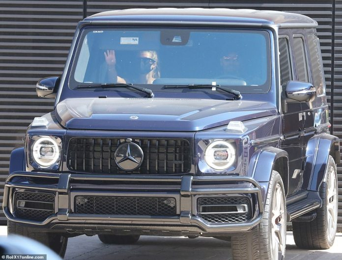 Nobu: Before their party, the couple had lunch at Nobu in Malibu