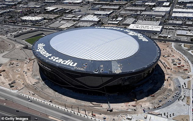 Allegiant Stadium in Las Vegas has been touted as a possible venue for the bout