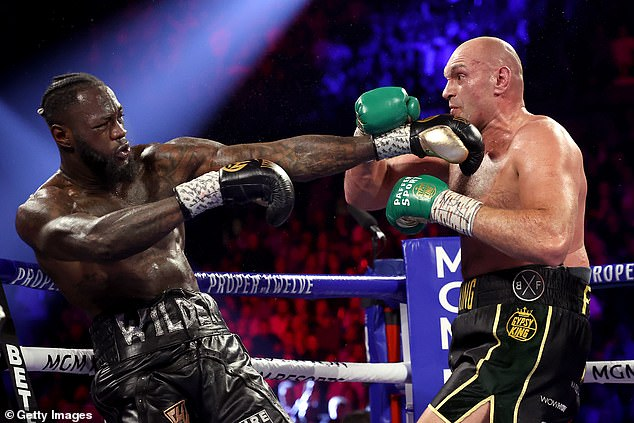 Deontay Wilder lost the WBC heavyweight title to Tyson Fury in Las Vegas in February