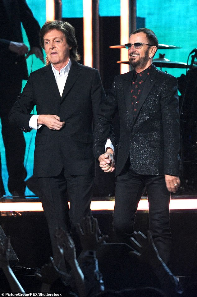 Going strong: Ringo believes a Beatles reunion would have happened if it were not for the untimely deaths of John and George