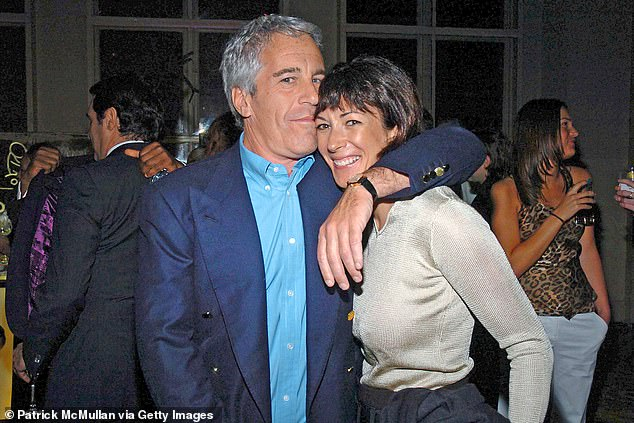 Pictured: Disgraced financier Jeffrey Epstein and his 'madam' Ghislaine Maxwell in 2005. Australian TV host Lisa Wilkinson has hit out at the royal family and urged them to push Prince Andrew - a former friend of Epstein - to co-operate with authorities