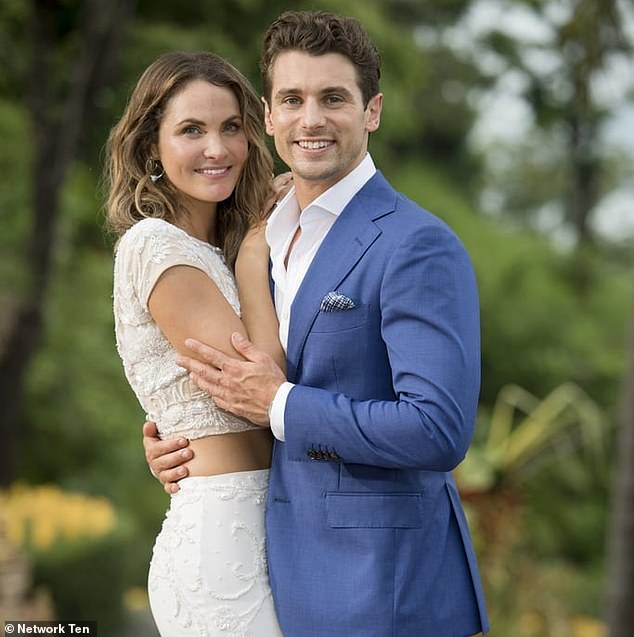 Something to tell us? Matty J has hinted that maybe the couple have already said 'I do' after he referred to Laura as his wife while talking about their dog in a recent article with Domain