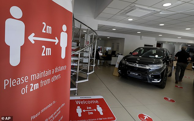 Sector bosses said dealerships are among the venues with the best social-distancing protocols that retailers had spent vast sums on implementing from 1 June 2020