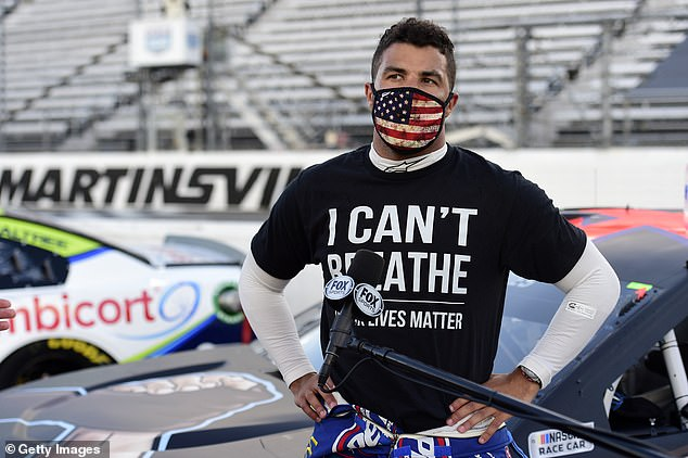 Bubba Wallace had not seen the noose found in his garage atTalladega Superspeedway at the end of June but a member of his team found it and flagged authorities