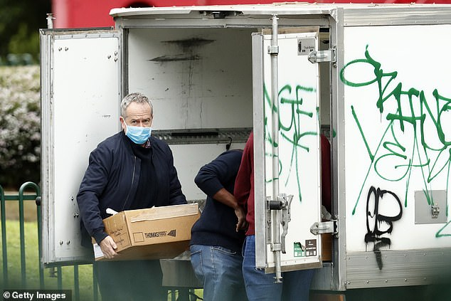 Former Labor Leader Bill Shorten has teamed up with a Melbourne butcher to deliver Halal care packages to residents locked in public housing towers