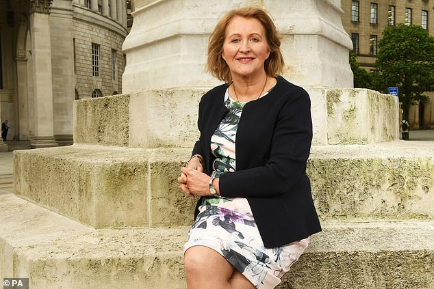 Children's Commissioner of England Anne Longfield (pictured) published a report raisingconcern about the 80,000 youngsters who were experiencing difficulties at school before the pandemic