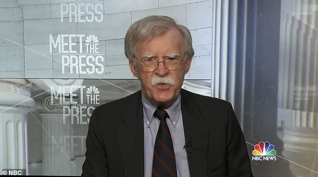 Trump tried to stop publication of his niece's book and one by former National Security Adviser John Bolton