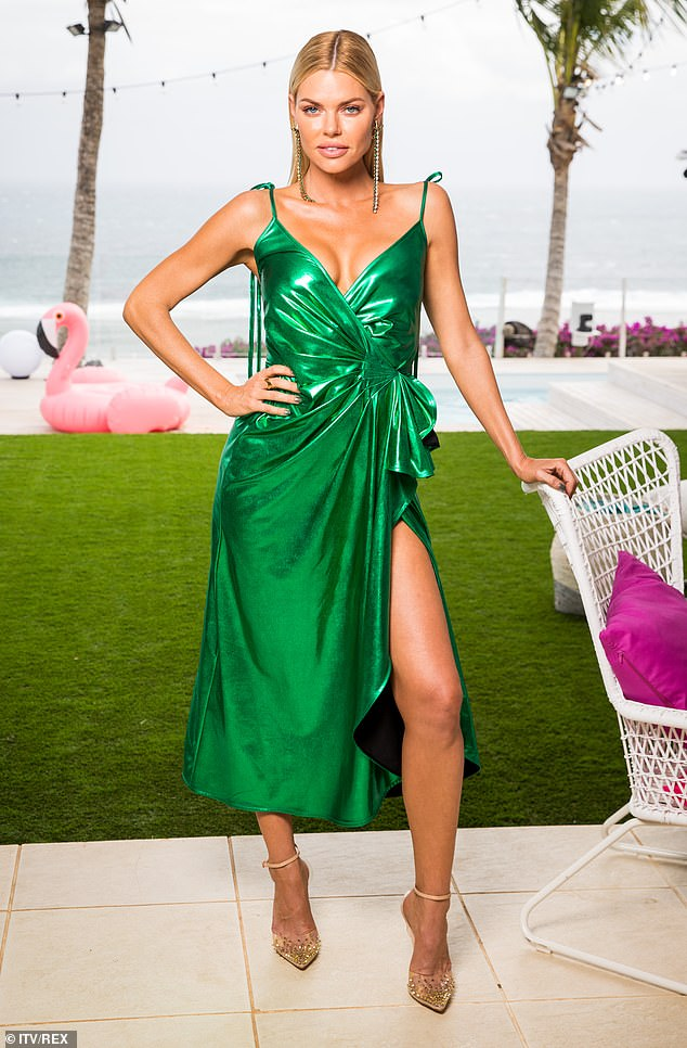 Revealed: Love Island Australia host Sophie Monk (pictured) revealed her favourite slang word from Down Under and also shared what makes her version of the show different