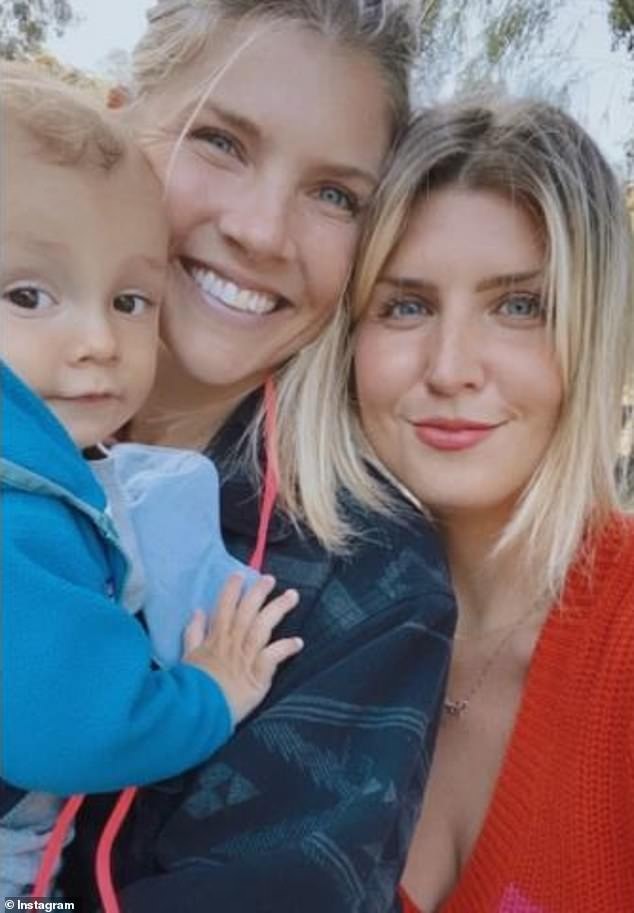 Amanda Kloots has shared a video capturing how her family supported her over the last 95 days as her husband Nick Cordero fought for his life in the hospital. Cordero, 41, tragically passed away on Sunday from COVID-19 related complications