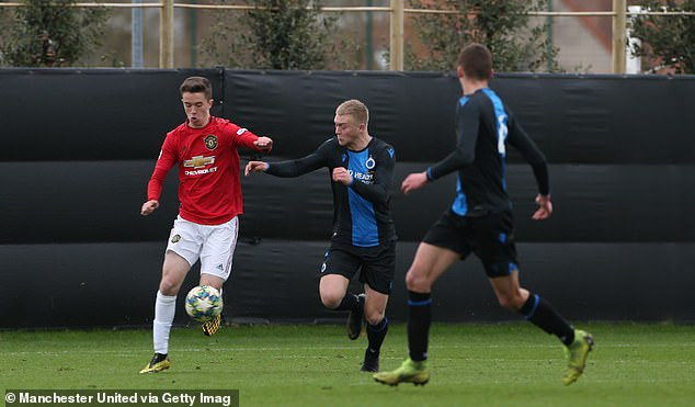 Harvey impressed at youth level for United and was awarded a one-year contract