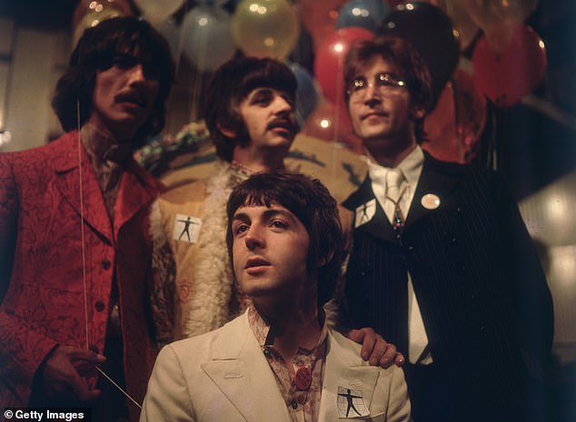 The group, known as Fab Four, is regularly voted best British music group
