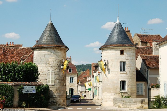 10th - the famous wine village of Chablis.