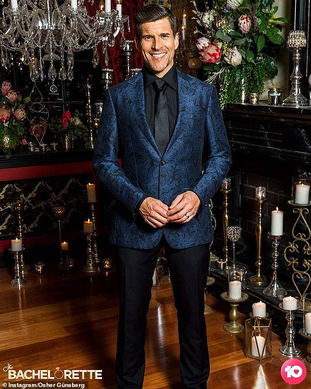 Discrepancy: Eagle-eyed fans on The Bachelor and Bachelorette Spoiler Forum have pointed out that a network executive has made conflicting statements about the progress of filming. Pictured: hostOsher Günsberg