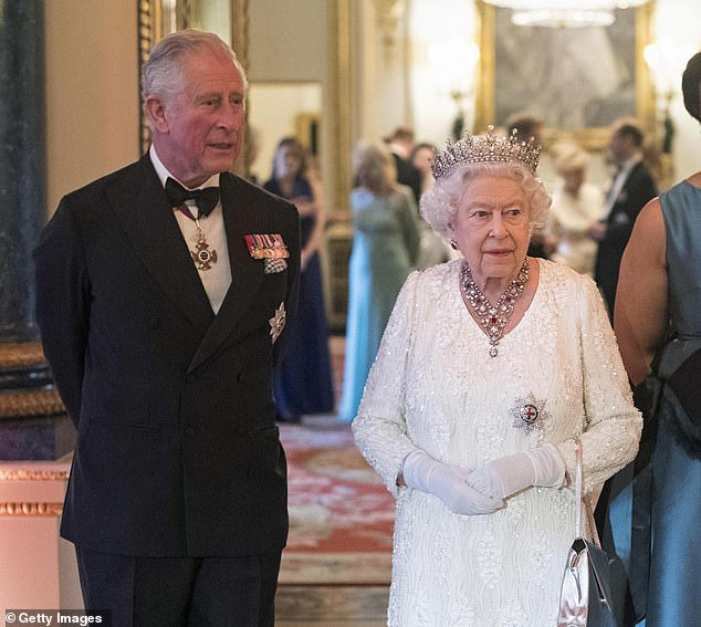 It is a common enough mistake among people with no great interest in the subject, but it's a baffling error for the grandson of the Queen (pictured right with Princes Charles)