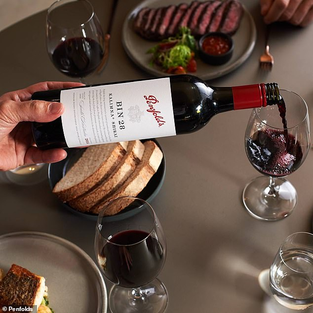 Penfolds' chief winemaker said many technological advances have made producing wine a more streamlined process but what hasn't changed is how their wine (pictured) is created