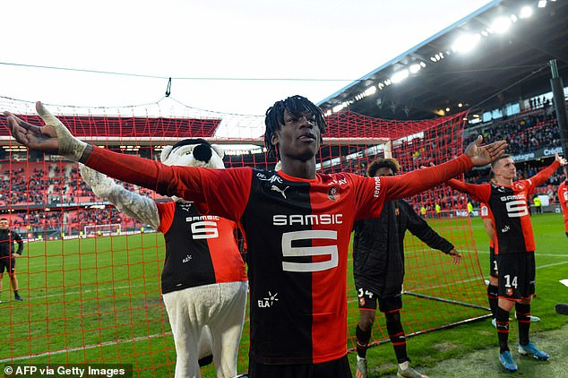 Eduardo Camavinga is also avoiding signing a new deal with Rennes over a potential switch