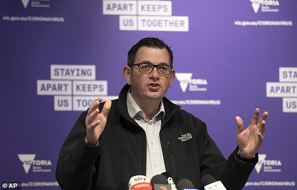 Victorian Prime Minister Daniel Andrews talks about state response to increased cases