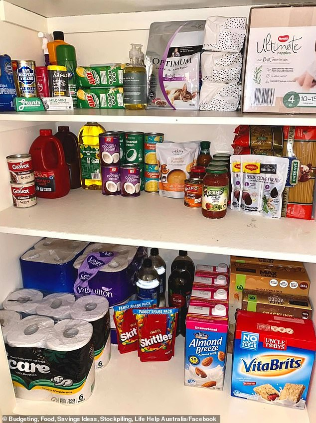 Australians have been stockpiling ahead of the lockdown in Melbourne despite supermarkets remaining open