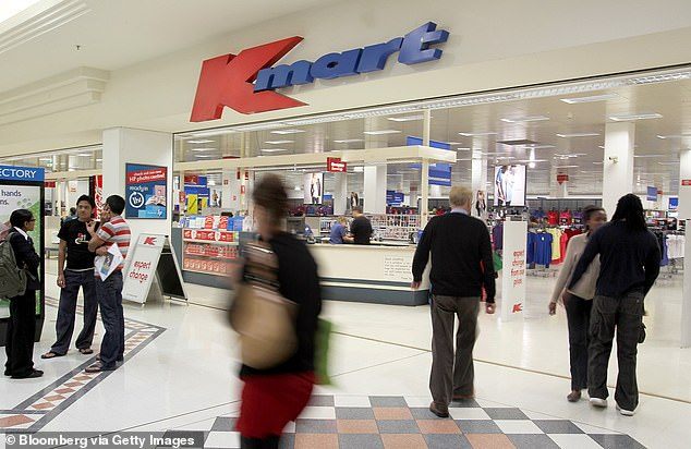 Kmart is set to increase its retail presence by opening more stores (pictured, a store in Perth)