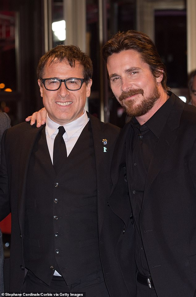 Teaming up: Christian will also be reuniting with director David O. Russell (L) on a New Regency drama about a doctor and a lawyer forming an unlikely partnership (pictured in 2014)