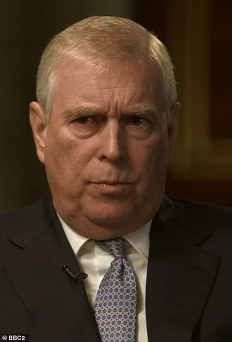 Prince Andrew (pictured during his BBC Newsnight interview last year) is under increasing pressure to give evidence - lawyer Gloria Allred says Andrew wants an invitation 'on a silver platter'