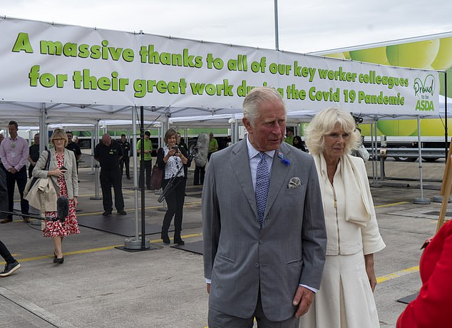 The royal duo (pictured, together) have been slowly returning to public duties as lockdown restrictions have been relaxed