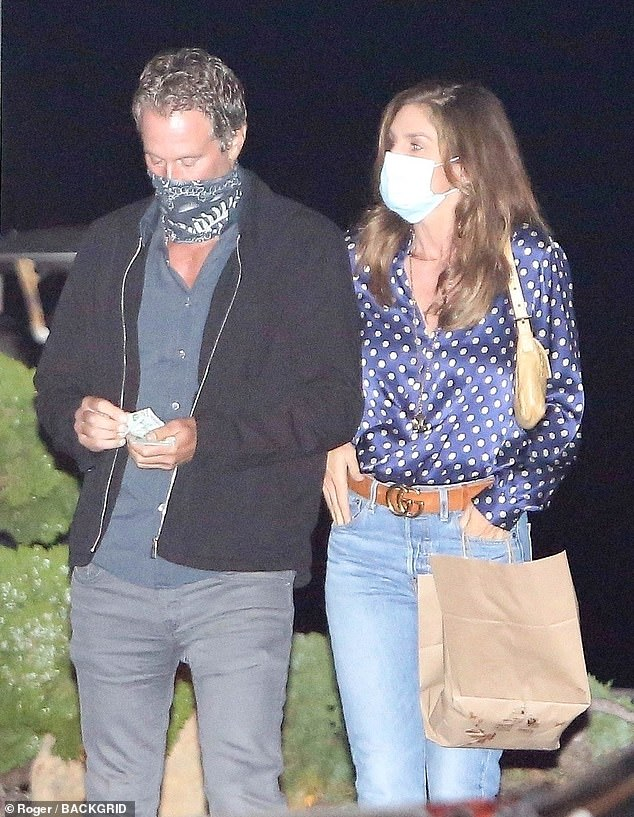 22 years strong! Nineties supermodel Cindy Crawford and her second husband - Casamigos Tequila co-founder Rande Gerber - enjoyed a romantic date night at sushi hotspot Nobu Malibu on Thursday