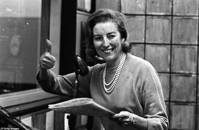British singer Vera Lynn rehearsing for a BBC Radio show in 1965. Her broadcasting gave hope to millions of people at home and abroad