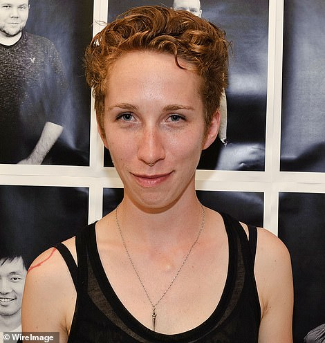 Depp told the court today that he did not believe Heard's tiny Yorkshire terrier Pistol could have defecated in the bed, and blamed Heard's trans activist friend iO Tillet Wright (pictured)