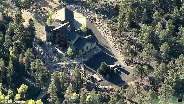 On Thursday, the Chaffee County Sheriff's Office released a statement revealing that investigators conducted a second search of the $1.5 million home Suzanne shared with her husband, Barry, earlier in the day. The property is pictured