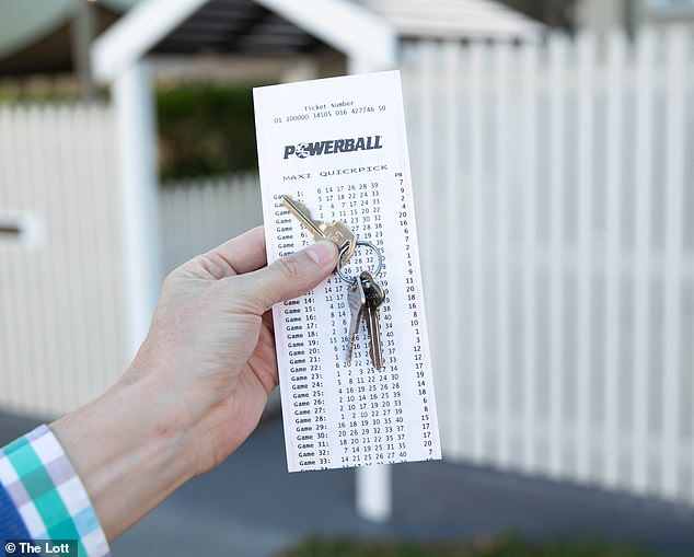 The winner didn't register a Tatts Card with The Lott, meaning officials have no way of contacting them (stock image)