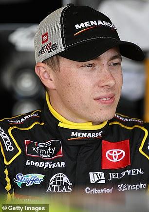 Pictured:Noah Gragson,21, who representsNo. 9 JR Motorsports Chevrolet