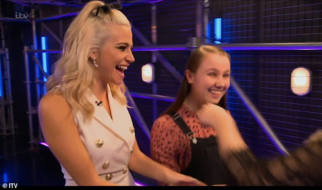 Wow! Coaches Paloma Faith, Pixie Lott, Danny Jones and Will I Am gave the teenage a standing ovation for her version of Your Song, based on Ellie Goulding's cover Elton John's track
