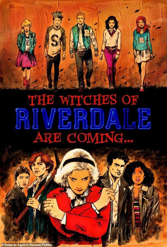 Crossover: As if news of the cancelation were not enough, the series' creator Roberto Aguirre-Sacasa revealed on Friday that a 'part five' would have included a Riverdale crossover