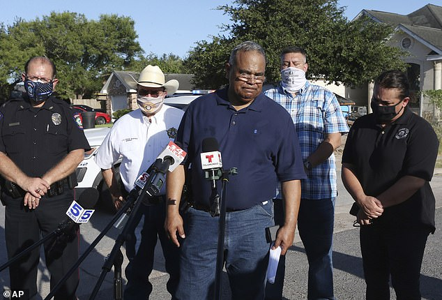 'The officers did not draw their weapon, did not fire, did not stand a chance,' Police Chief Victor Rodriguez said