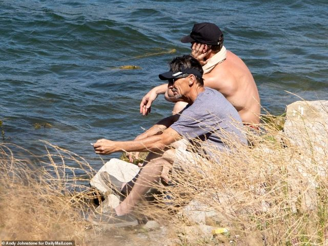 At one point Naya Rivera's father George Rivera sat alongside his former son-in-lawRyan Dorsey
