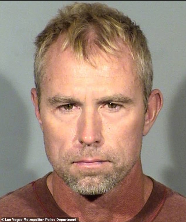 Terry Gray, 52, was arrested by police in Las Vegas on Friday and will appear in court Monday