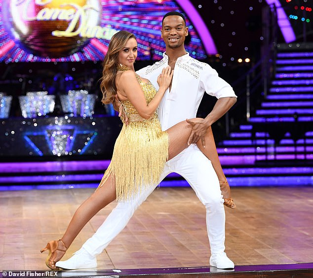 Way to the top: the professional dancer, 33, was raised by his mother Jacobeth, 61, in the canton of Sasolburg, South Africa, after the death of his father at the age of 12.