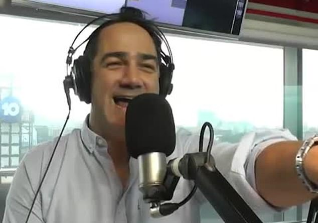 Worth it! Wippa (pictured) admitted that he knew he was going to be in trouble before he posted the image, but thought it was to good an opportunity to let slip by