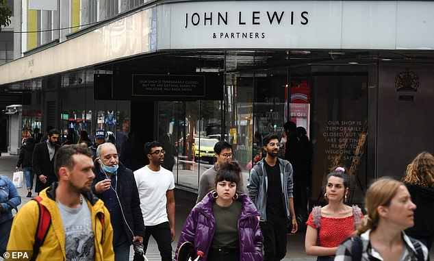 The worst drop in footfall was found in central London, which saw a whopping 81 per cent less shoppers in June than in the same month last year