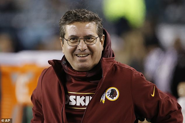 Redskins owner Daniel Snyder previously said he wouldn't be open to a name change