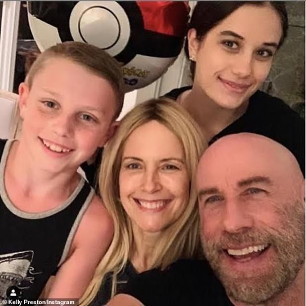 June 21 Family portrait: Preston is survived by his 20-year-old daughter Ella Blue and nine-year-old son Benjamin from his 29-year-old marriage to two-time Oscar nominee John Travolta.