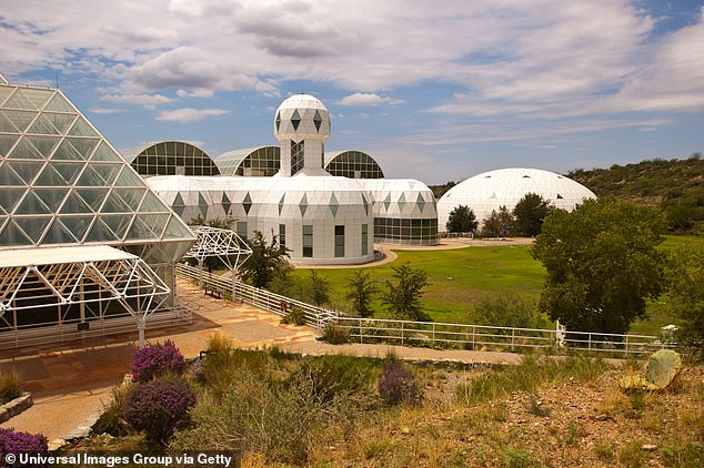 The space: Biosphere 2 was built on 3.15 acres near Oracle, Arizona. The structure was built to offer everything that made it possible to live on Earth