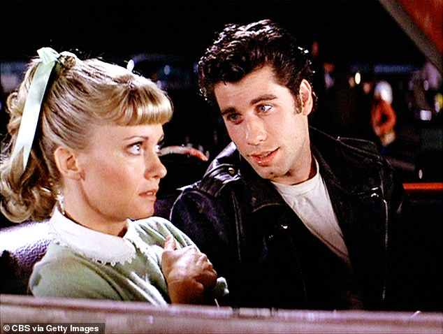 Summer Love!  John and Olivia have remained friends since starring in the 1978 hit musical film Grease