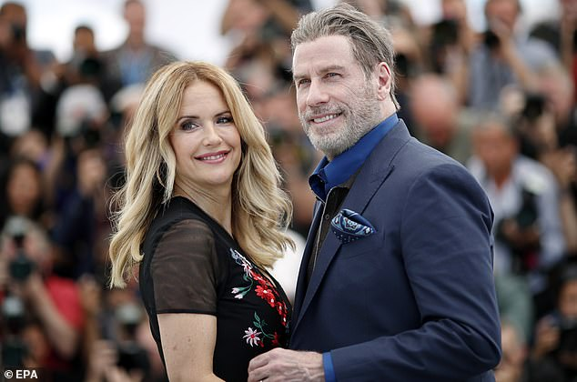 Love: Preston is survived by Travolta, who she was married to for 28 years